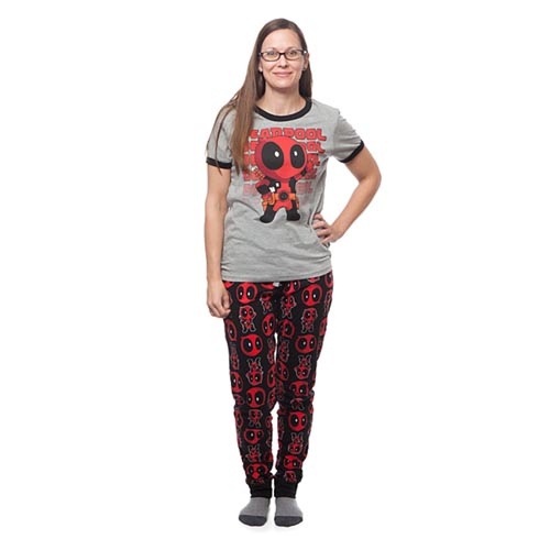 Deadpool Ladies Pyjamas  b50058531