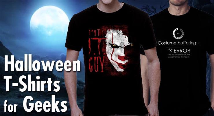 Top Halloween Shirts 2020 The Top Geeky Halloween 2020 T Shirts | NerdShizzle.com